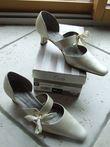 Chaussures de mariée ivoire Point. 37 - Occasion du Mariage