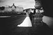 Robe de mariée Debbie Hervé Mariage T.38 col bateau - Occasion du Mariage