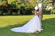 robe de mariée miss kelly + voile de 3mètres - Occasion du Mariage
