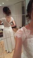 Robe de mariée bohème - T36/38 - Occasion du Mariage