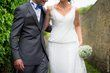 Robe de mariée PRONOVIAS T.36 dentelle et mousseline  - Occasion du Mariage
