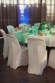 150 housses de chaise blanche en Lycra - Occasion du Mariage
