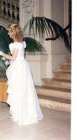 Robe de mariée satin blanc - Occasion du Mariage