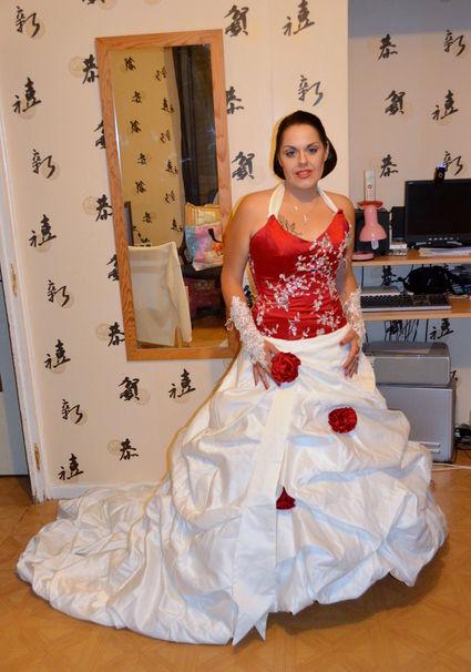 ... mariée de créateur Armilani Mariage pas cher - Occasion du Mariage