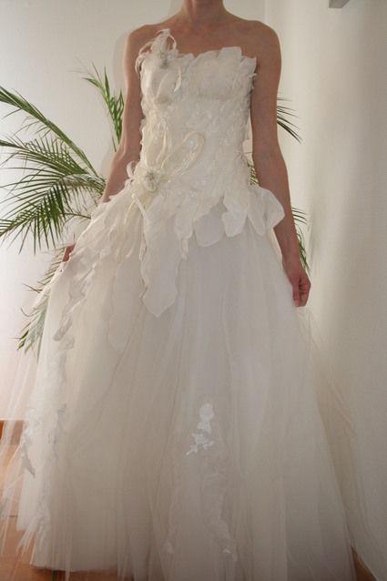 Robe de mari e pas cher t36 38 les mari es d 39 lodie for Petite occasion habille les mariages