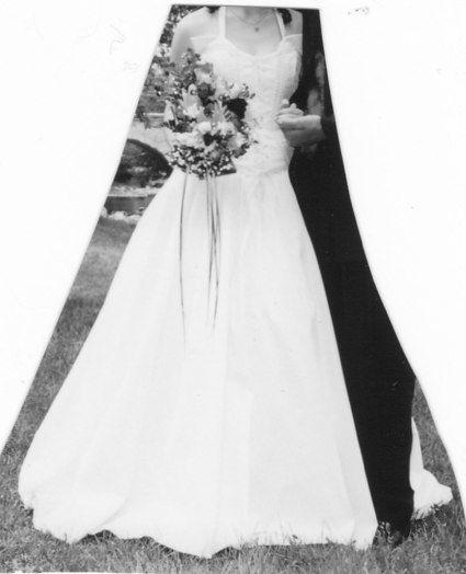Robe de mariée + chapeau + jupe + bustier - Occasion du Mariage