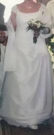 robe de mariée simple et chic - Occasion du Mariage