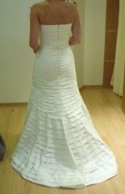 ... robe de mariée Cymbeline modèle Darlène avec jupon et boléro pas
