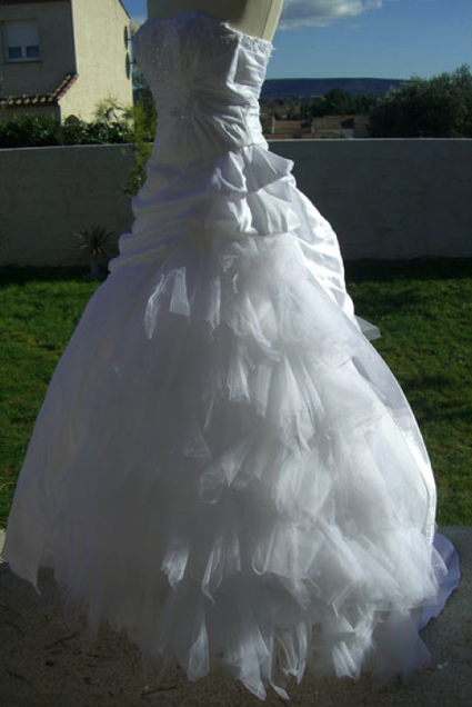 Robe de mariée Tati mariage Palermine pas cher doccasion 2012 ...
