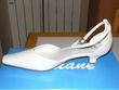 chaussures de mariées neuves couleur perle - Occasion du Mariage
