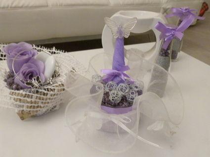 Décorations de table thème papillon pour mariage