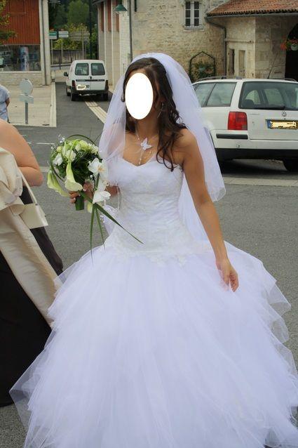 Robe de mari e d lia les mari es de provence charente for Petite occasion habille les mariages