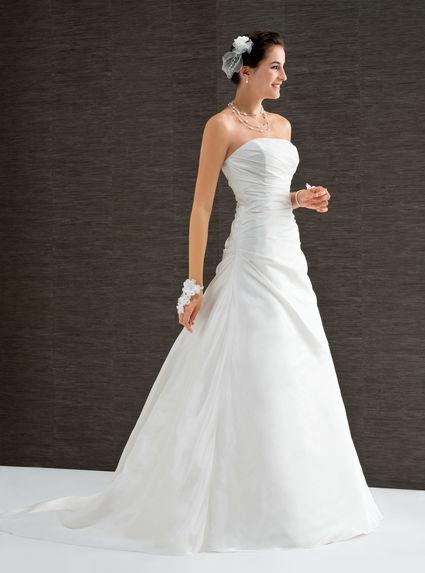 Robe de mariée bustier d'occasion à Valence