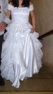 Très jolie Robe de Mariée faite sur mesure  - Occasion du Mariage