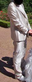 Costume 3 pièces et Chaussures, complet - Occasion du Mariage
