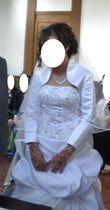 Robe de mariée avec Bolero - Occasion du Mariage