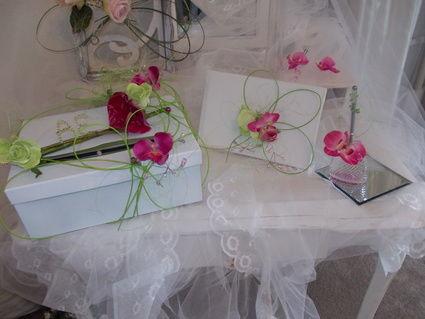 decorations florales romantique Charente Maritime