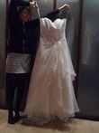 Robe bustier ivoire Neuve T 40 - Occasion du Mariage