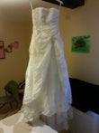 robe de marié bustier - Occasion du Mariage