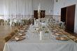 Lot de 158 sous assiettes dorées - Occasion du Mariage