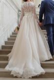 Robe de mariée soie et dentelle T.34 - Occasion du Mariage