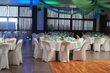 13 Chemins de tables et 8 Tentures plafond Vert et Or - Bleu - Occasion du Mariage