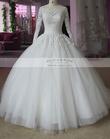 Robe de Mariée Neuf manches longues  - Occasion du Mariage