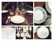 Location de Vaisselle Vintage / Ancienne - Occasion du Mariage