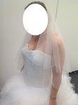 Robe de mariée hervé mariage modèle Delphine - Occasion du Mariage