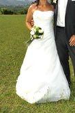 Robe de mariée bustier ivoire T40 - Occasion du Mariage