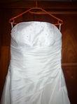 Robe de mariée bustier A-line - T38 petit budget - Occasion du Mariage