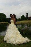 robe bustier organza  - Occasion du Mariage