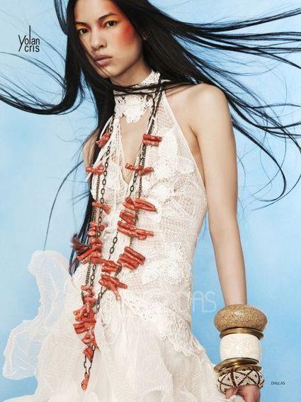 Robe de mari e neuve yolan cris mod le dallas for Dallas de conservation de robe de mariage