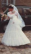 Robe de mariée avec voile Pronuptia - Occasion du Mariage