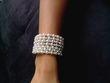 Bracelet perles et strass - Occasion du Mariage