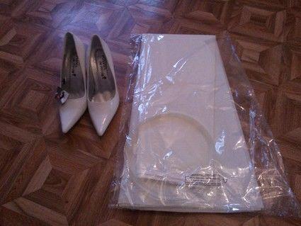 robe de mari e style et passion jamais port e avec jupon et chaussures. Black Bedroom Furniture Sets. Home Design Ideas