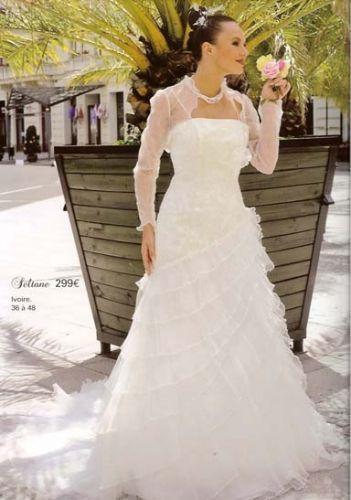 Robe de mariée taille 36 ivoire de chez Tati mariage à Mantes-la ...