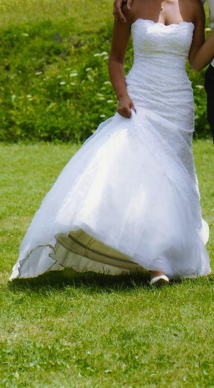robe de mari e moda sposa bustier bol ro dentelle d