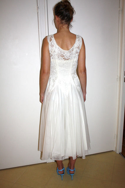 Robe de mari e vintage ann e 50 paris for Robes pour l occasion de mariage