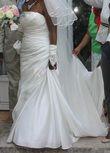 Robe de mariée pronovias + voile + jupon - Occasion du Mariage