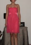 robe de soirée rose, bustier, taille 40 - Occasion du Mariage