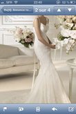 Robe White One Pronovias T34/36 - Occasion du Mariage