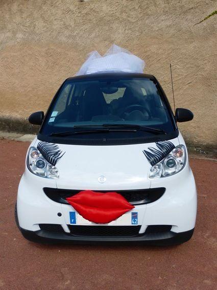 Décoration pour voitures de mariés - Loire (Haute)
