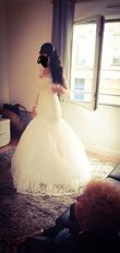 Robe de mariée sirène Hervé Mariage Mirella - Occasion du Mariage