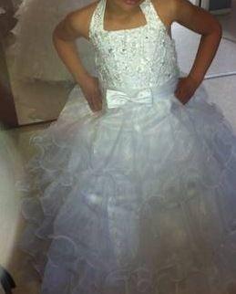 066647140776f Robe de petite fille pour mariage de 7 à 12 ans - Occasion du Mariage