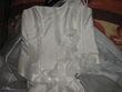 Belle robe bustier en soie - Occasion du Mariage