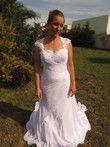 Robe de mariée gracieuse et élégante, mariage - Occasion du Mariage