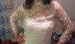 Robe de Mariée magnifique Neuve avec Bolero manches  - Occasion du Mariage