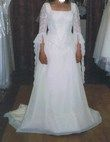 robe de mariée Bella Paris écru taille 38 - Occasion du Mariage