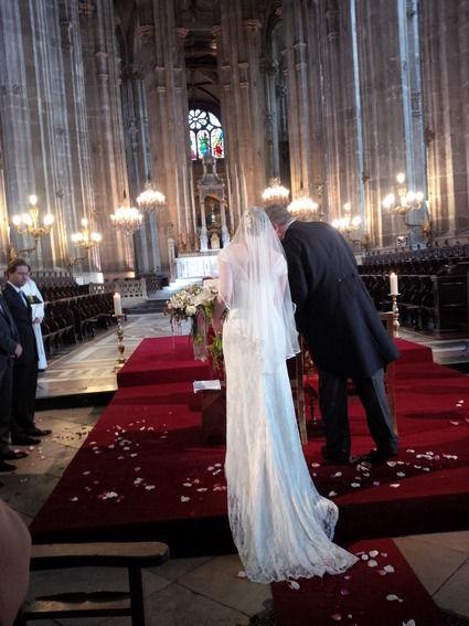 robe romantique dentelle herv mariage paris - Herve Mariage Paris